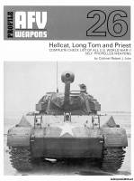 Profile AFV Weapons 26 - Hellcat, Long Tom and Priest